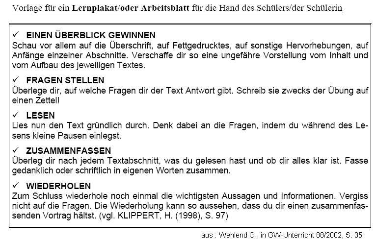 PS Fachdidaktik II, Univ.Lektor Dr. Christian Sitte Institut für ...