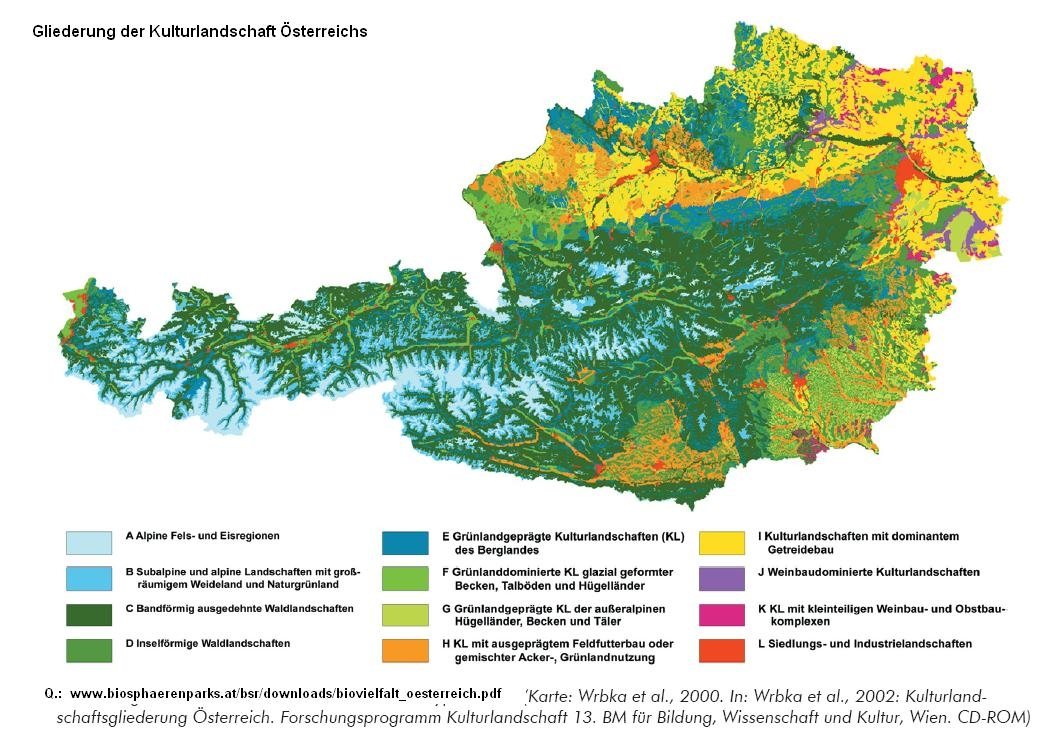 Topographische Karte Ungarn.Topographische Karte Osterreich
