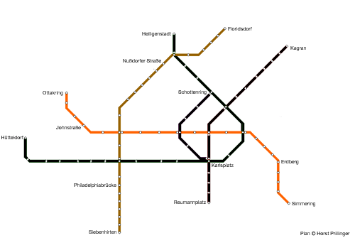 The Modern Metro U Bahn Phase 2 1989 2000 The Vienna Metro