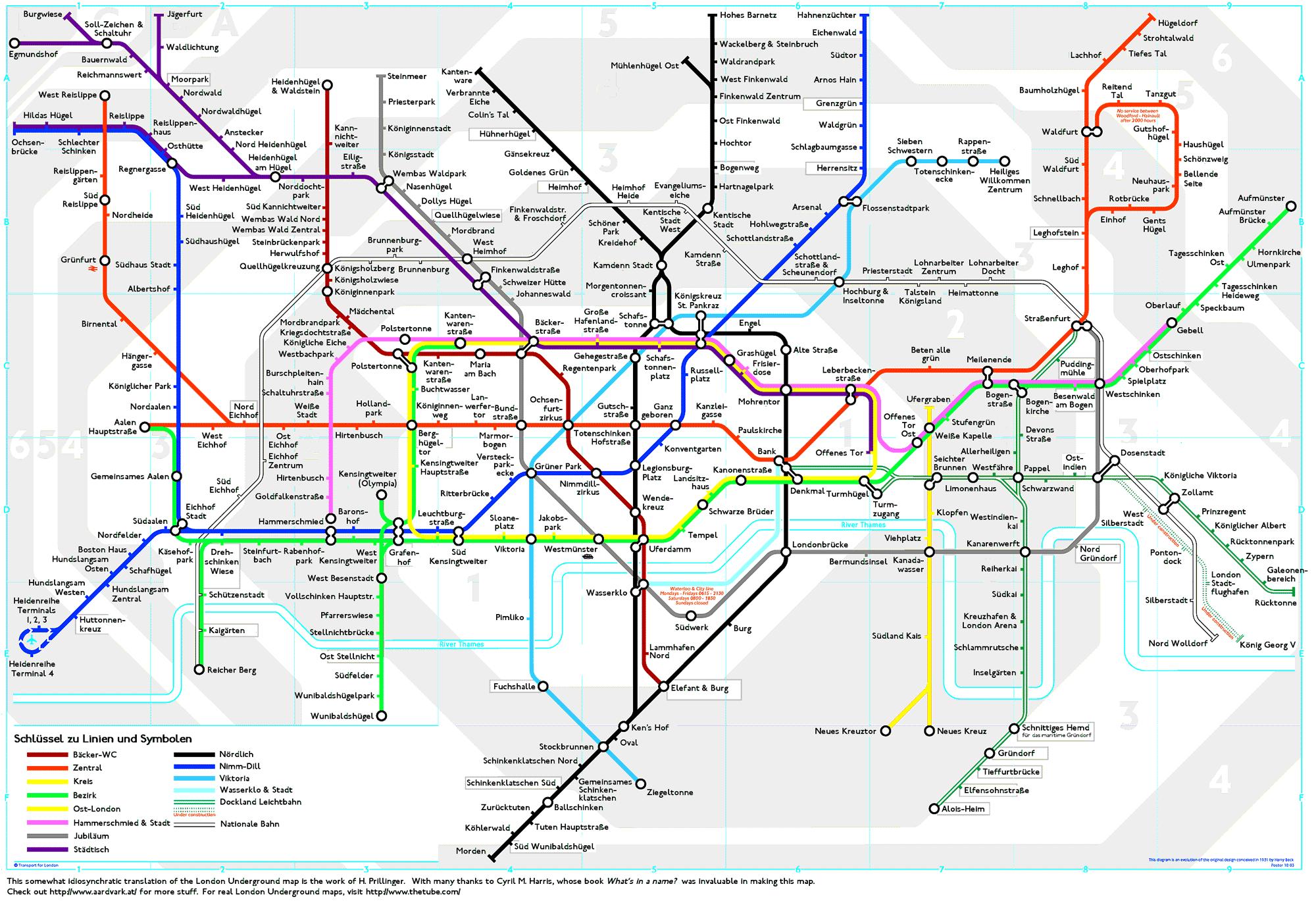 London Underground London Underground Map