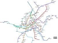 Subway Map Vienna Austria.Network Maps The Vienna Metro