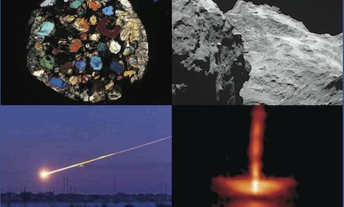 Master's course: Introduction to Meteoritics and Astromineralogy
