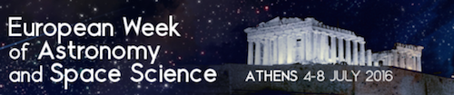 "EWASS 2016, Athens: Symposium ""The Dynamics of Star and Planet Formation"""