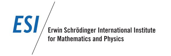 ESI: The Erwin Schrödinger International Institute for Mathematical