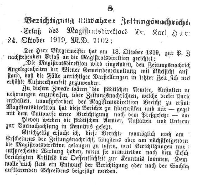 Fake News 1919