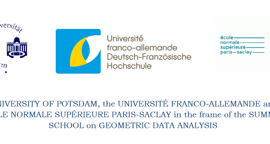 Summer School Geometric Data Analysis Potsdam