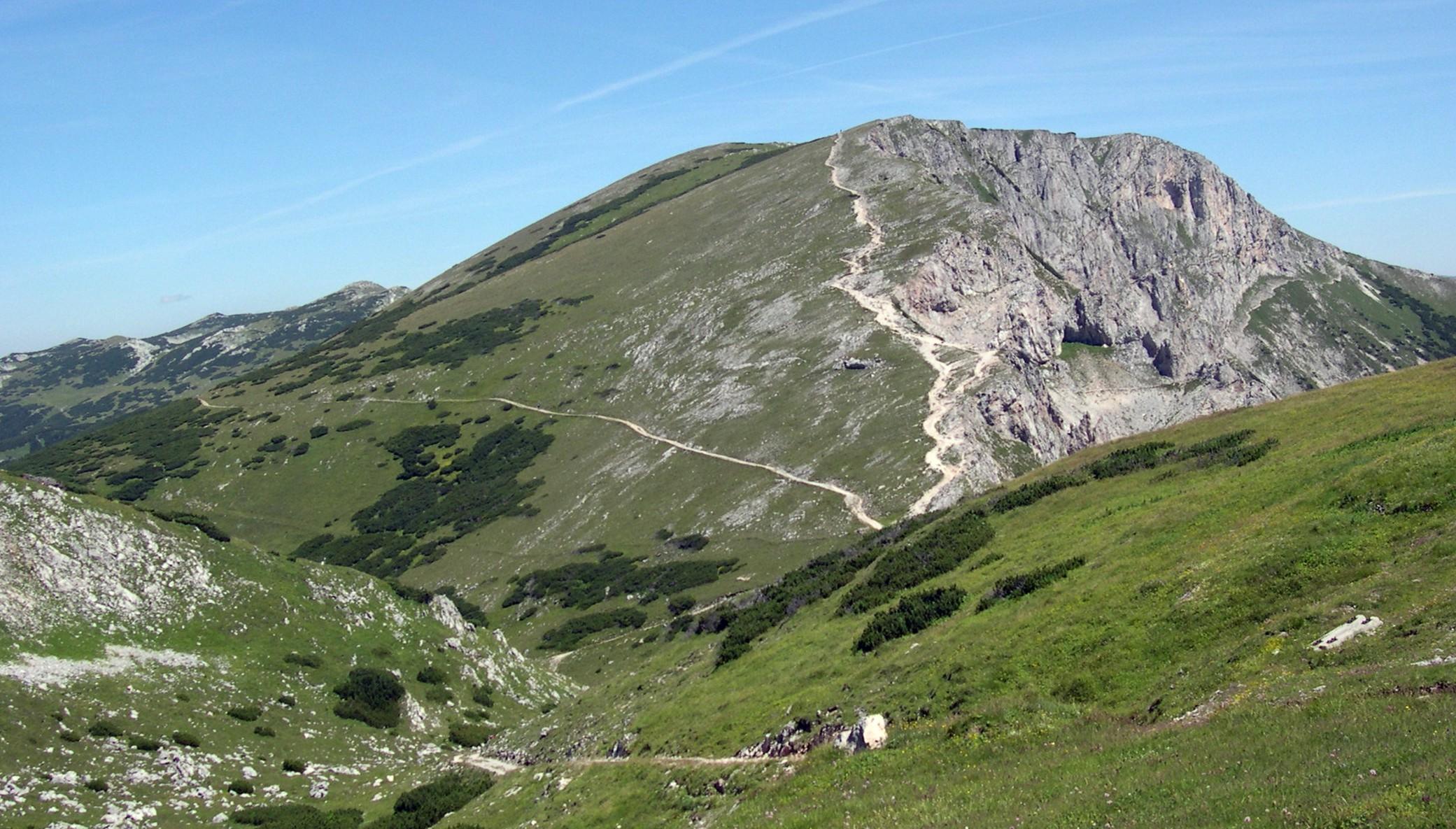 Klettersteig Rax : Klettersteigwanderung auf der rax